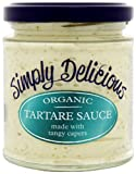 Simply Delicious Organic Tartare Sauce 180 g (Pack of 6)