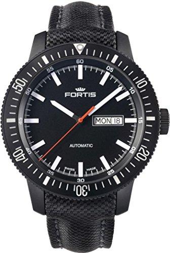 Fortis B-42 Monolith 647.18.31.LP Reloj Automático para hombres Recubierto con PVD