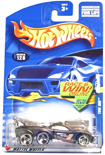 Hot Wheels 2002 Tow Jam Truck 128 BLACK