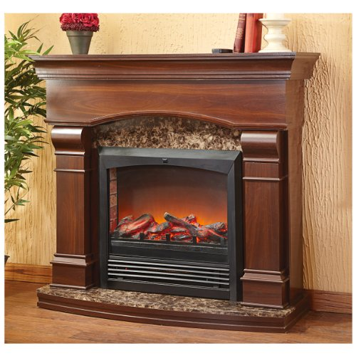 CASTLECREEK Estate Electric Fireplace Best Rated | Lowes Electric ...