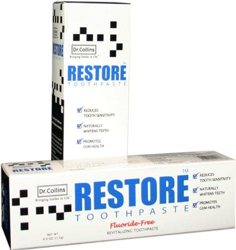 Dr Collins -  Restore Toothpaste, 4oz
