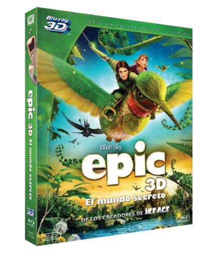 Epic (BD + BD 3D) [Blu-ray]