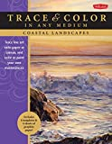 img - for Coastal Landscapes: Trace line art onto paper or canvas, and color or paint your own masterpieces (Trace & Color) book / textbook / text book