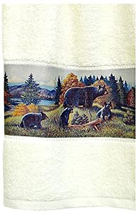 Bath Towel Black Bear Lodge