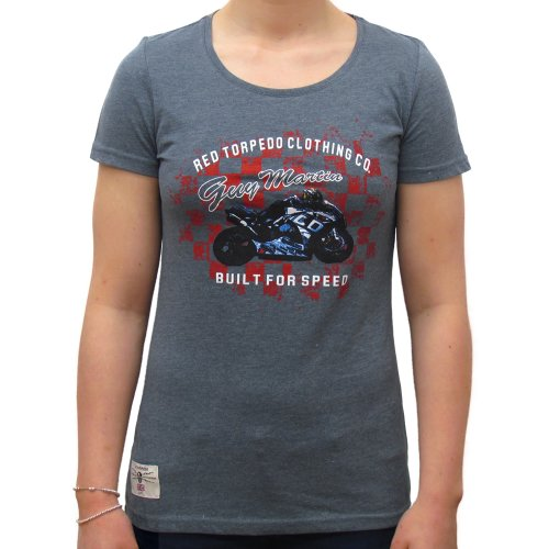 Primo Guy Martin Built for Speed (Womens) T-Shirt
