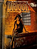 Dragon Magazine No 222: The Many Forms of Horror (Monthly Magazine) (0786902736) by Mohan, Kim
