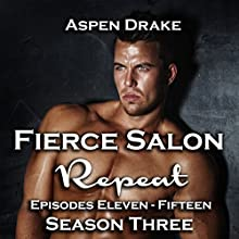 Repeat: Fierce Salon, Book 3, Episodes 11 -15 Audiobook by Aspen Drake Narrated by Chris Chambers, Liona Gem