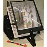 S.A. RICHARDS 2169 Prop-It Hands-Free Page Magnifier and Stand