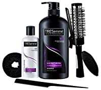 #3: TRESemme Free Hair Styling Kit Worth Rs.500 with Hair Fall Defense Shampoo, 580ml and Conditioner, 85ml