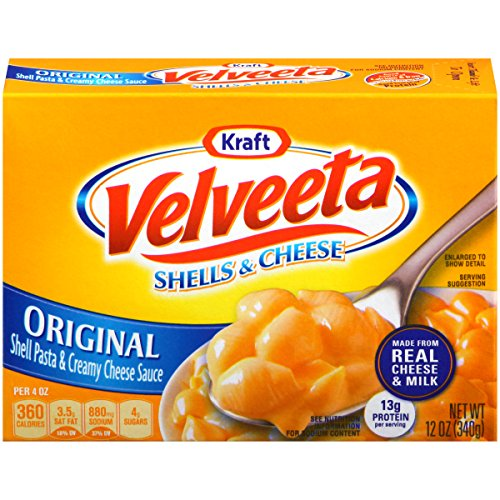 Velveeta Shells & Cheese Dinner, 12-Ounce Boxes (Pack of 6) (Box Mac And Cheese compare prices)