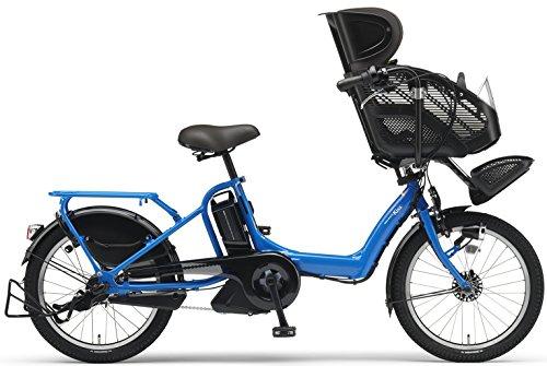 YAMAHA(ヤマハ) PAS Kiss mini XL チャイルドシート付き電動自転車 20インチ 2015年モデル [12.8Ahリチウムイオン電池、トリプルセンサーシステム、急速充電器付] スカイブルー PM20KXL