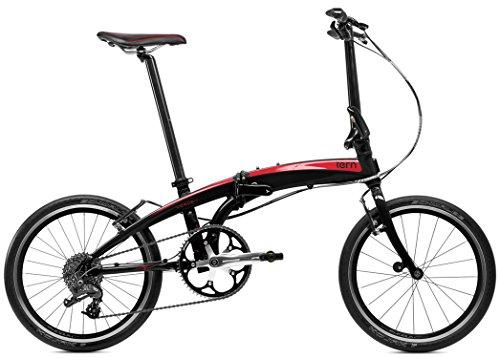 tern (turn) Verge P9 in 2015-20 inch folding bicycle [9 speed, black / red 15VRP9BKRD