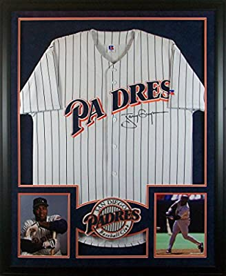 Tony Gywnn Framed Jersey Signed PSA/DNA Autographed San Diego Padres