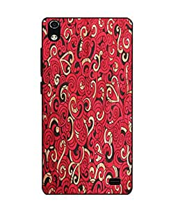 Case Cover Printed Colorful Soft Back Cover For LYF WATER 6