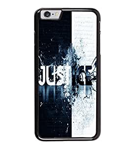 printtech Justice Cool Quote Back Case Cover for Apple iPhone 6