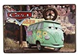 Colorful Volkswagen Combi, Metal Tin Sign, Wall Decorative Sign 8x12inch