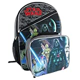 Star Wars Classic Characters Kids School Backpack with Insulated Lunch Bag
