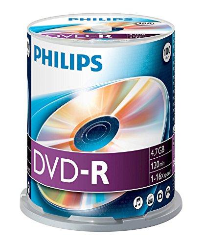 DM4S6B00F - 100 x DVD-R - 4.7 GB ( 120 Min. ) 16x