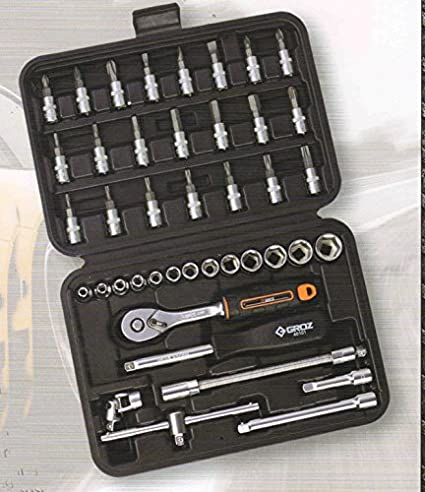 1/4 Inch Square Drive Socket Set (42 Pc)