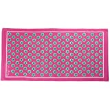 Vera Bradley Beach Towel in Pink Swirls Flowers