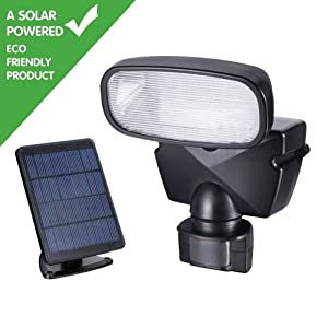 Outdoor Solar Security Light, 30 Ultra Bright Led