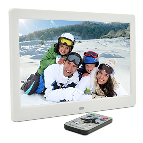 101-Inch-Hi-Res-TFT-LED-Digital-Photo-Frame-HD-Video1080P720pMusic-Playback-with-Remote-ControlCalendarClock-Support-32GB-SD-Card