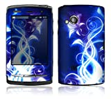 Electric Flower Design Protective Skin Decal Sticker for Sony Ericsson Xperia X10 Mini PRO Cell Phone
