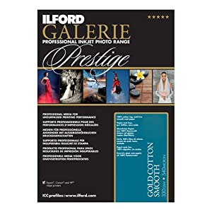Ilford Galerie Prestige gold Cotton Smooth A 3+ 330 g 25 Bl.