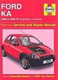 Ford Ka Service and Repair Manual (Haynes Service and Repair Manuals) Motor 1.? by A. K. Legg (2002-03-30)