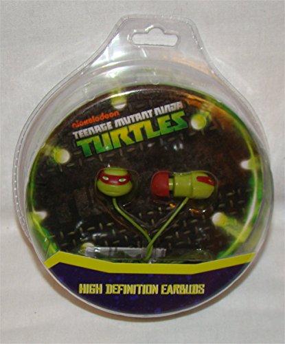 Nickelodeon Teenage Mutant Ninja Turtles Molded Earbuds (11365)