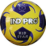Indpro Unisex Kidstar Football 3 Yellow Blue