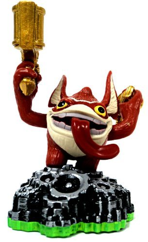 Skylanders Spyros Adventure LOOSE Mini Figure Trigger Happy Includes Card Online Code - 1