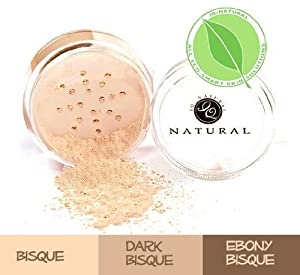 Multi-tasking Mineral Makeup Concealer, Bisque, by iQ Natural