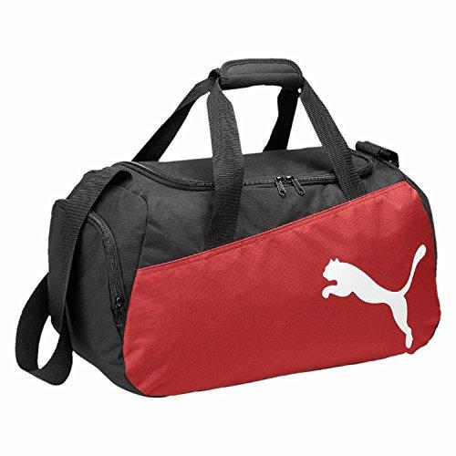 Puma, Borsa sportiva Pro Training, Multicolore(nero-rosso-bianco)