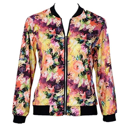 anglewolf-donne-stand-colletto-a-maniche-lunghe-zipper-floral-bomber-xl
