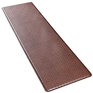 GelPro Basketweave Mat, 20 by 36 Inches, Truffle