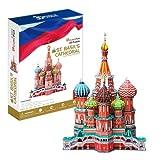 3D立体パズル【世界遺産と世界の大きな建築物】BIGサイズ 聖ワシリイ大聖堂 (ロシア)