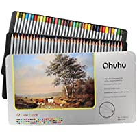 Ohuhu 72-color Colored Drawing Pencils In Tin Case