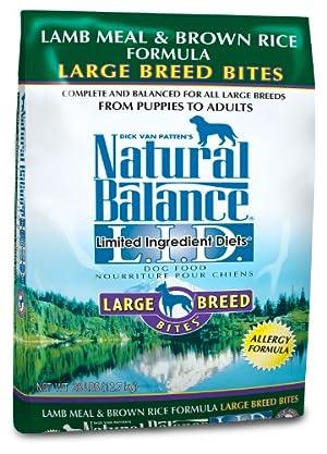 Natural Balance Dry Dog Food Limited Ingredient Diet for Large Breeds