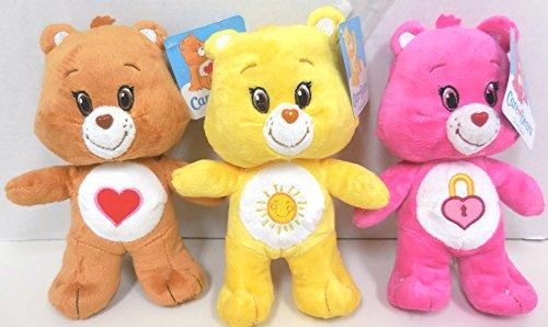 [Care Bears Tenderheart, Secret, Funshine Bears 8.5 inches Standing Care Bear] (Care Bear Plush)