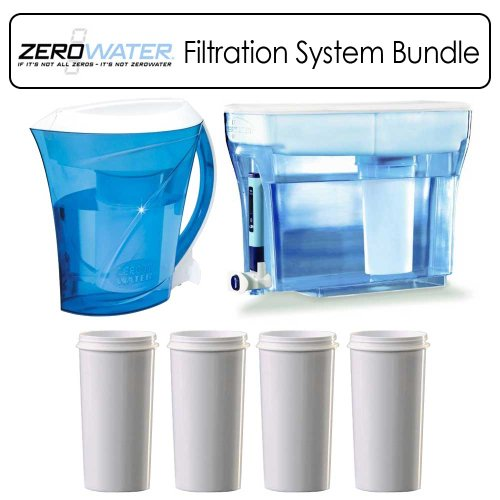 Zerowater Water Filtration System Outfit With Zd 018 Zd