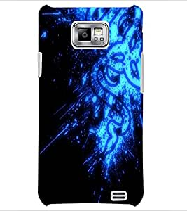 PrintDhaba Digital design D-2145 Back Case Cover for SAMSUNG GALAXY S2 (Multi-Coloured)