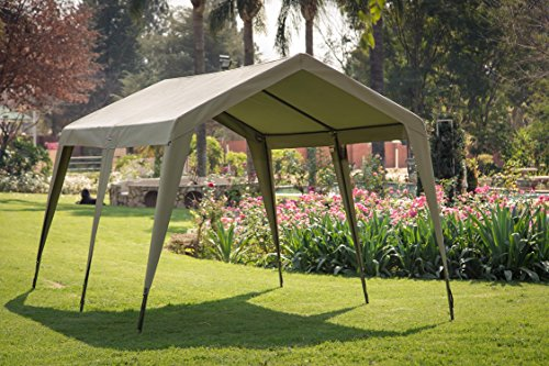 Delta Zulu Combo Canvas 4 Person Chalet Tent With Gazebo