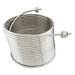 Stainless Steel Coil for Jockey Box - 50\' Length