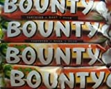 5 x Mars Dark Chocolate Bounty Standard 57g Bars