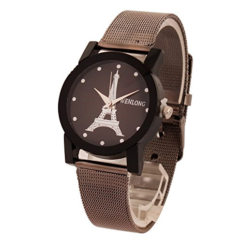 Copperzeit Fancy Metal strap Eiffel Tower collection watch for Women – EIFBDB01