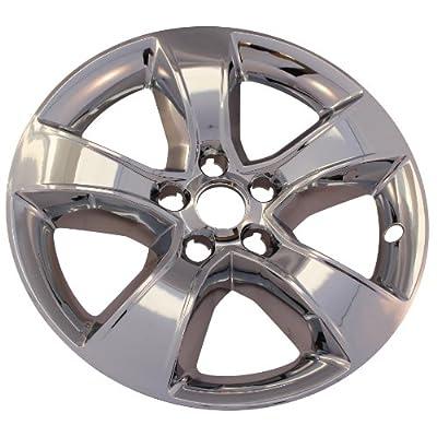 "4 New Chrome 17"" 5 Spoke Wheel Skin Hub Caps: 2011 -2013 Dodge Charger IMP352X"
