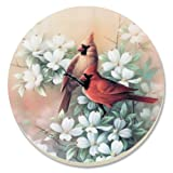 CounterArt Cardinals Absorbent Coasters, Set Of 4