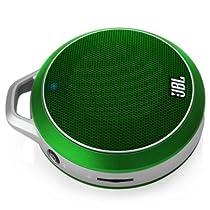 JBL Micro Wireless Bluetooth Speaker (Green)
