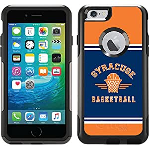 Coveroo Commuter Series Black Case for iPhone 6 - Retail Packaging - Syracuse University Classic Basketball